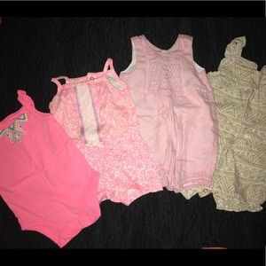 Girls 9 month lot of 4